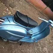 Vespa Super Tahun 1974 Biru Metalik (25126819) di Kota Tangerang