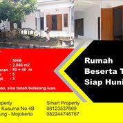 Rumah Beserta Tanah Siap Huni (25128791) di Kab. Mojokerto