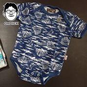 Paket 4 Pcs Body Suit Bayi Merek Libby Baju Terusan On Piece Pakaian Baby Jumper Unik (25148287) di Kota Jakarta Selatan