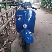 Vespa Super Tahun 1974 Biru (25151851) di Kota Bogor