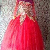Gaun Pengantin Merah Cabai (25160883) di Kab. Tangerang