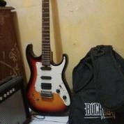 Gitar Bucklay By Washburn + Ampli Original (25236531) di Kota Tangerang Selatan