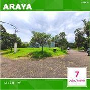 Tanah Hook Luas 338 Di Nieuw Indie Araya Kota Malang _ 164.20