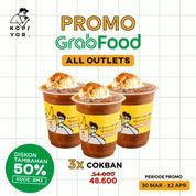 KOPI YOR Promo GrabFood 50% Kode Promo