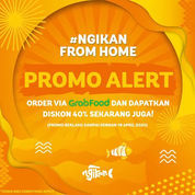 Ngikan Promo GrabFood 40% Diskon