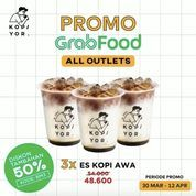 Kopi Yor Promo Grabfood