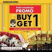Martabak Boss Promo Buy 1 Get 1