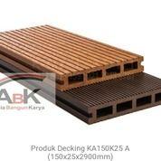 Decking WPC Lantai Outdoor KA 150 K25 Seri A,B,C Kayu Asri + Jasapasang (Harga Sendiri)
