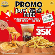 Master Cheese Pizza Promo Buy 1 Get 2 Free