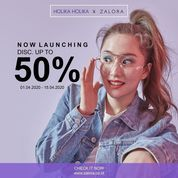Holika Holika x ZALORA Discount Up to 50%