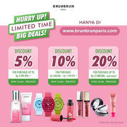 BrunBrun Paris Kode Promo Diskon SALE LIMITED TIME