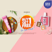 BrunBrun Paris Buy 1 Get 1 FREE Magic Pink/Bronze