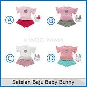 Setelan Baju Baby Bunny