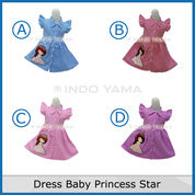 Dress Baby Princess Star