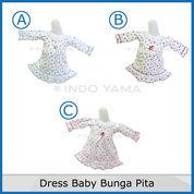 Dress Baby Bunga Pita