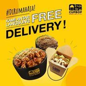 Cupbop Promo FREE DELIVERY