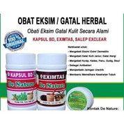 Obat Alergi Gatel Gatel - Obat Kudis - Penyakit Kulit - Kadas - Gudik - Obat Herbal De Nature