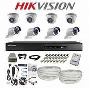Paket 8 Camera Cctv Hikvision TURBOH HD 2MP Lengkap (25348059) di Kota Jakarta Pusat