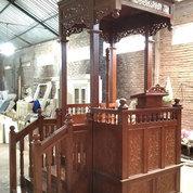 Mimbar Masjid Blitar Kayu Jati (25352683) di Kab. Jepara