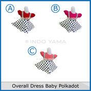 Overall Dress Baby Polkadot 1