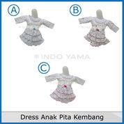 Dress Anak Pita Kembang
