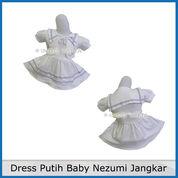 Dress Putih Baby Nezumi Jangkar