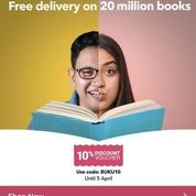 Book Depository: 10% Diskon Voucher