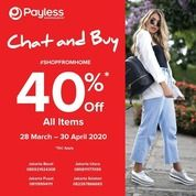 Payless Chat And Buy 40% Off All Items