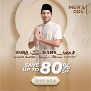 Matahari.com Baju Muslim Pria Save up to 80%