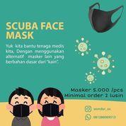 Wonder_os Konveksi Masker Scuba Face Mask 5.000/pcs