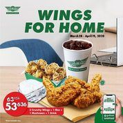 Wingstop Wings For Home Promo