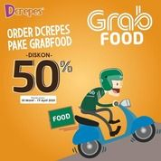 D'crepes Diskon 50% Grab food