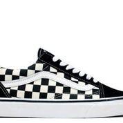 Checkerboard DX Black White Japan Market - US size 9
