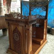 Mimbar Masjid Lumajang Kayu Jati (25443179) di Kab. Jepara