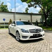 C250 COUPE AMG 2014 White On Red Full Opt 25k Miles #W204 (25447727) di Kota Surabaya