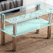 Coffee Table Importa F766 White New Coffee