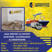 Jasa Import | Jasa Import Resmi | Forwarder Import (25458371) di Kota Jakarta Timur