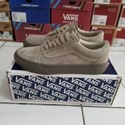 Sepatu Vans Vault OG Old Skool Taupe Grey (25464091) di Kota Bandung