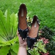 Flat Pita Hitam Sepatu Wanita Stude Import (25464503) di Kota Bandung