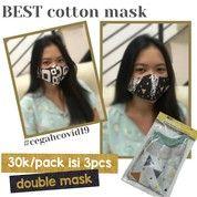 Masker Kain Per Pack 3 Bh (25464875) di Kota Semarang
