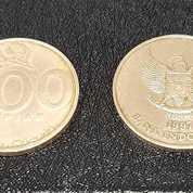 Uang Logam Koin 500 Rupiah Kuning (25465603) di Kota Semarang