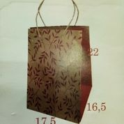 Paper Bag Dus Nasi 16 ( 44 ) Uk 22 X 16,5 X 17,5 Cm