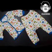 Momme Setelan Pendek Bayi Paketan Baju Atasan Lengan Pendek Dan Celana Pendek (25486743) di Kota Jakarta Selatan