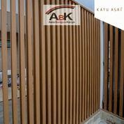Dinding Partisi WPC KA100K50A Kayu Asri+Jasa Pasang(Harga Sendiri) (25489415) di Kota Surabaya