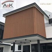 Dinding Partisi WPC KA80K40 Kayu Asri+Jasa Pasang(Harga Sendiri) (25489591) di Kota Surabaya