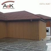 Dinding Partisi WPC KA150K50 Kayu Asri+Jasa Pasang(Harga Sendiri) (25489803) di Kota Surabaya