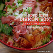 HOLIAW KODE PROMO GRAB FOOD 50% DISKON