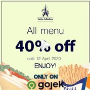 Sophie Authentique all menu 40% off