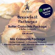 Sophie Authentique Breakfast Packages Special Price via GoFood