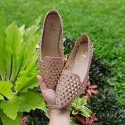 Rose Gold Sepatu Flat Wanita Import (25504023) di Kota Bandung